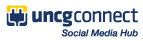 Logo - UNCG Connect Social Media