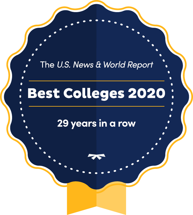 Best Colleges 2020 Accolade