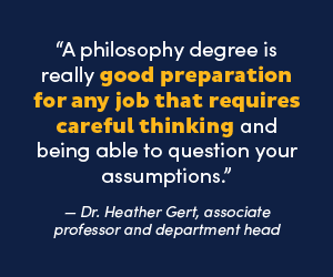 Philosophy career growth call out