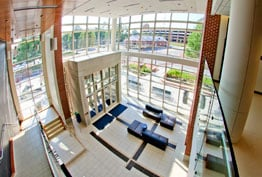 Photo of School of Education Building Lobby